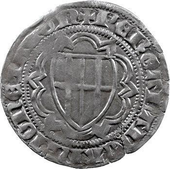 Allemagne, Trèves (archevêché de), Kuno II von Falkenstein, weisspfennig, Coblen
