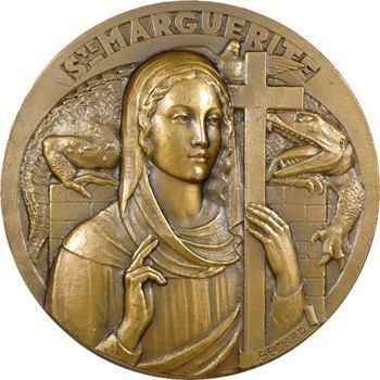 Saints (série des), Sainte Marguerite par Becker, s.d. Paris