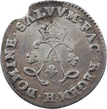 Louis XIV, quadruple sol aux deux L, 1692 La Rochelle