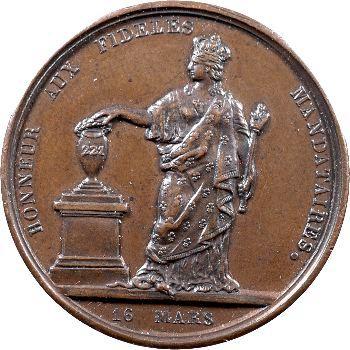 Charles X, aux électeurs constitutionnels de l'Adresse des 221, 1830 Paris