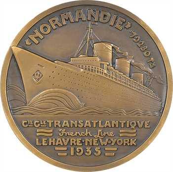 Vernon (Jean) : Compagnie Générale Transatlantique, paquebot Normandie, 1935 Paris