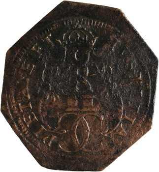 Charles IX, le Conseil du Roi, épreuve octogonale, s.d