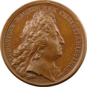 Louis XIV, avènement de Philippe (V) d'Anjou au trône d'Espagne, frappe ancienne, 1700 Paris