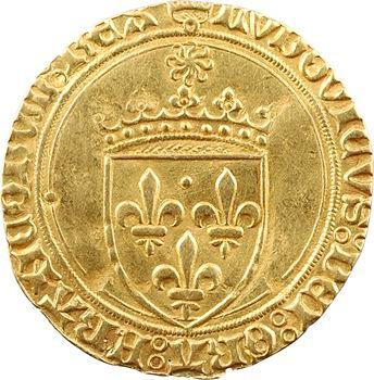 Louis XI, écu d'or au soleil, Châlons-en-Champagne