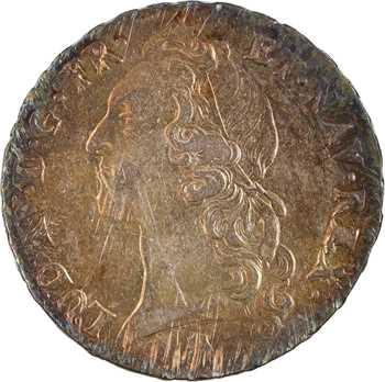 Louis XV, écu au bandeau, 1754 Perpignan