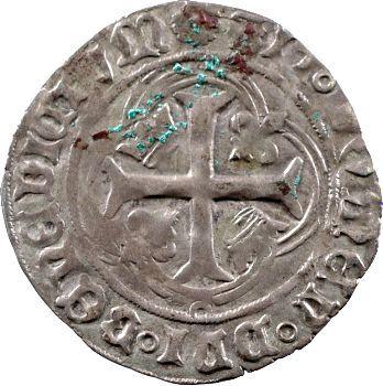 Charles VIII, Blanc à la couronne, Dijon