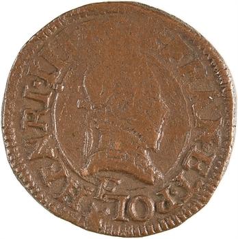 Henri III, denier tournois, 15[88 ?] Tours
