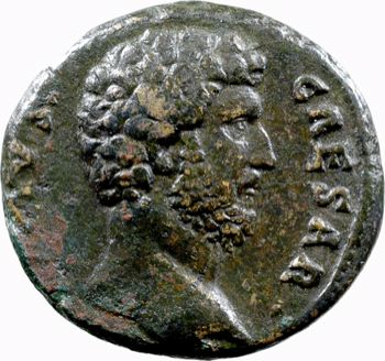 Aelius, as, Rome, 137