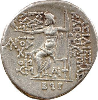 Syrie, Antiochos VIII et Cléopâtre Théa, tétradrachme, Damascus, c.121-120 av. J.-C.