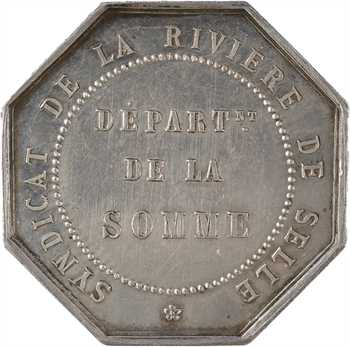 Second Empire, transport fluvial, Syndicat de la rivière de Selle (Somme), s.d. Paris