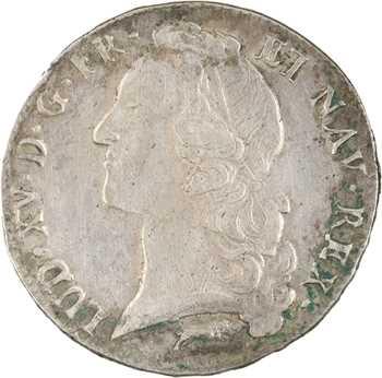 Louis XV, écu au bandeau, 1761 Orléans