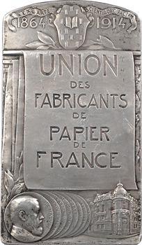 Dautel (P.-V.) : cinquantenaire de l'Union des fabricants de papier de France, 1864-1914 Paris
