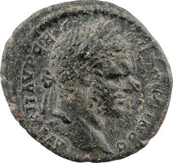 Thrace, Trajanopolis, Caracalla, AE16, 198-217