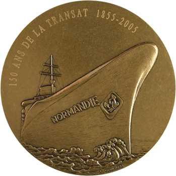 Gondard (C.) : 150 ans de la transat Le Havre Normandie, 1855-2005 Paris