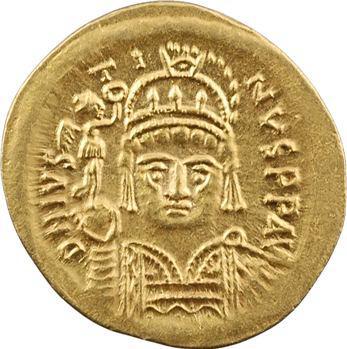 Justin II, solidus, Carthage, An 2 = 568-569