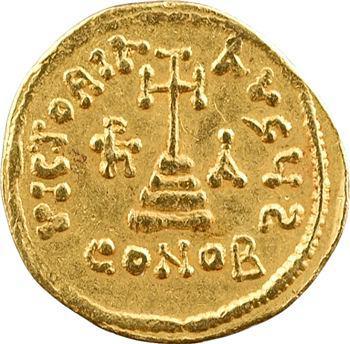 Héraclius, Héraclius Constantin et Héraclonas, solidus, Constantinople, 6e officine, 638-639