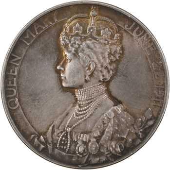 Royaume-Uni, le couronnement de Georges V et Mary, par Mackennel, 1911