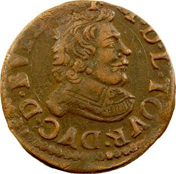 Sedan (principauté de), Frédéric-Maurice de La Tour, double tournois 14e type, 1642 Sedan