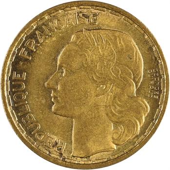 IVe République, 20 francs Georges Guiraud, 4 faucilles, 1950 Beaumont-le-Roger