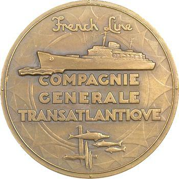 Compagnie Générale Transatlantique, paquebot Flandre, par Renard (Marcel), s.d (1952) Paris