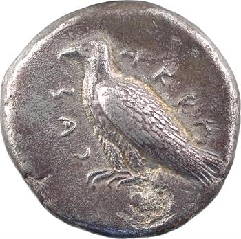 Sicile, Agrigente, didrachme, c.483-475 av. J.-C.