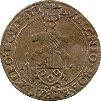 Belgique, Bouillon (duché de), retour de Bouillon à l'Espagne, 1559