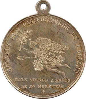 Russie/ France, traité de Paix de Paris et fin de la guerre de Crimée, 1856 Paris