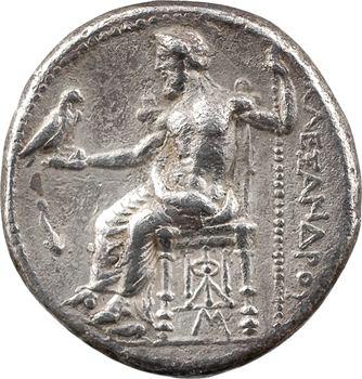 Macédoine, Alexandre le Grand, tétradrachme, Babylone, c.325-323 av. J.-C