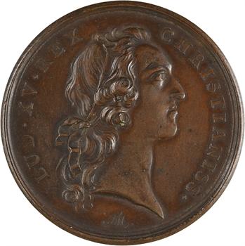Louis XV, Jean C. de Beauvoir, maire de Bourges, 1763 Paris