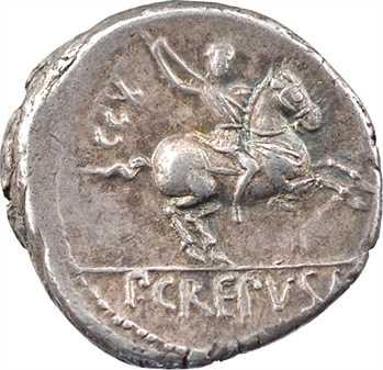 Crepusia, denier, Rome, 82 av. J.-C