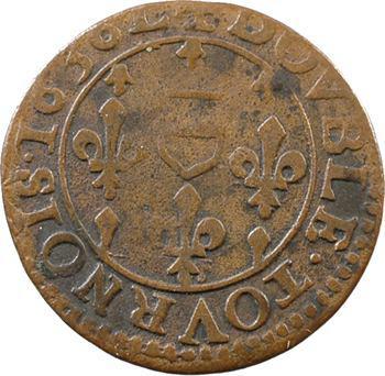 Berri, Boisbelle et Henrichemont (principauté de), Maximilien Ier, double tournois, 1636!