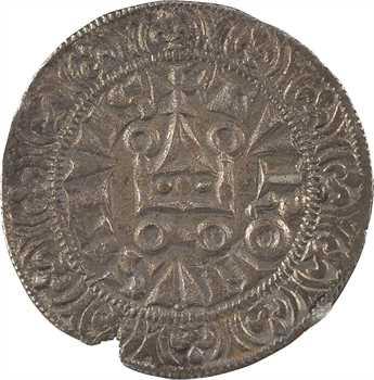Philippe IV, gros tournois à l'O rond (point sur second V de TVRONVS)