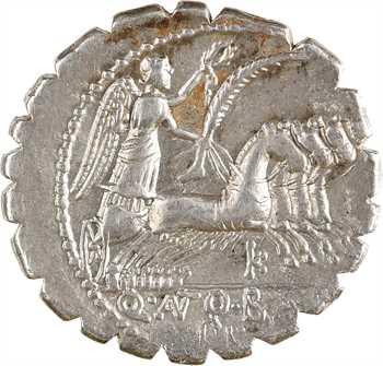 Antonia, denier serratus, Rome, 83 av. J.-C