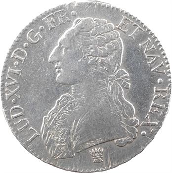 Louis XVI, écu aux branches d'olivier, 1778 Limoges