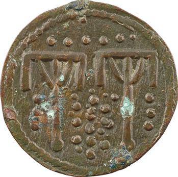 Moyen-Âge, Jeton de compte, écuries ou approvisionnement de Marie de Luxembourg ?