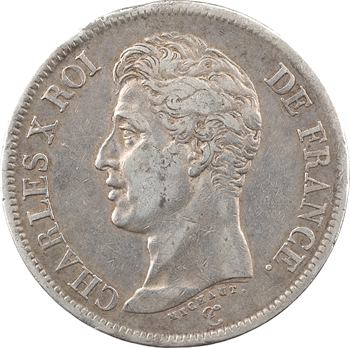 Charles X, 5 francs 1er type, 1826 Toulouse