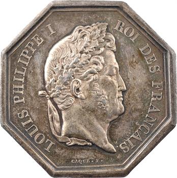 Louis-Philippe Ier, Compagnie d'assurance Phénix, 1819 (postérieur) Paris