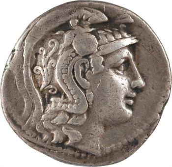 Attique, Athènes, tétradrachme stéphanophore, c.152-151 av. J.-C.