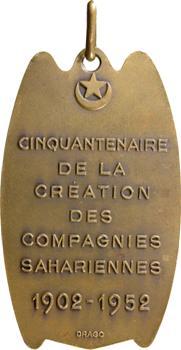 Algérie, cinquantenaire des Compagnies sahariennes, 1952