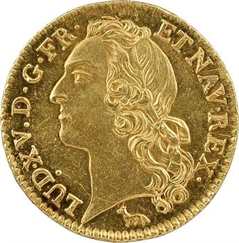 Louis XV, louis d'or au bandeau, 1740, 2d semestre, Paris