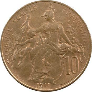 IIIe République, 10 centimes Daniel-Dupuis, 1911 Paris