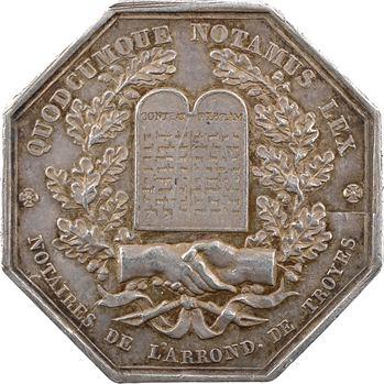 Louis-Philippe Ier, les Notaires de Troyes, par Barre, 1833 Paris