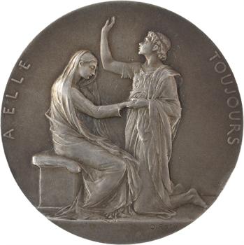 Roty (L.-O.) : À elle toujours, médaille de mariage, s.d.(1942) Paris