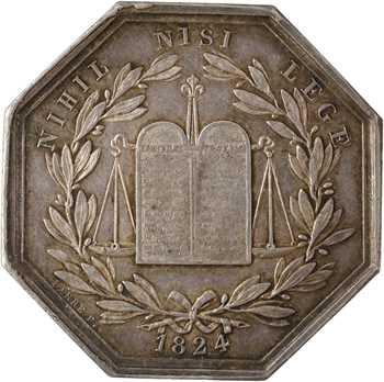 IIe République, Notaires de l'arrondissement de Provins (Seine et Marne), 1824 (post.) Paris