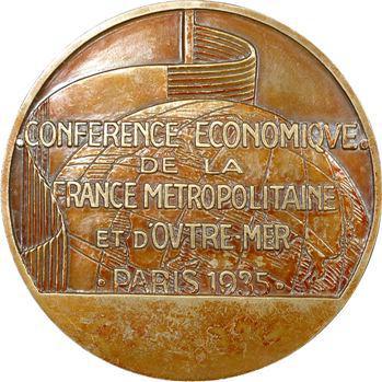 IIIe République, conférence de la France d'Outremer, par Monier, 1935