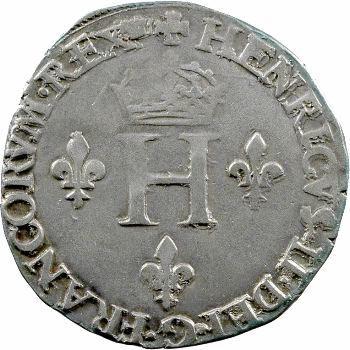 Henri II, gros de six blancs dit gros de Nesle, 1550 Paris