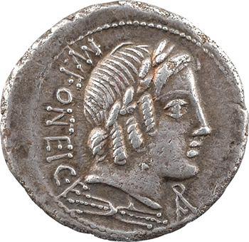 Fonteia, denier, Rome, 85 av. J.-C.