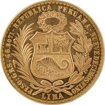 Pérou (République du), 100 soles, 1969 Lima