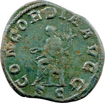Otacilia Severa, sesterce, Rome, 246