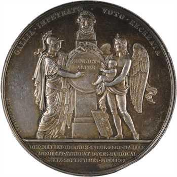 Louis XVIII, naissance du duc de Bordeaux, 1820 Paris